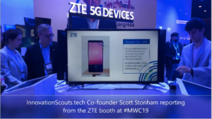 ZTE 5G device in action